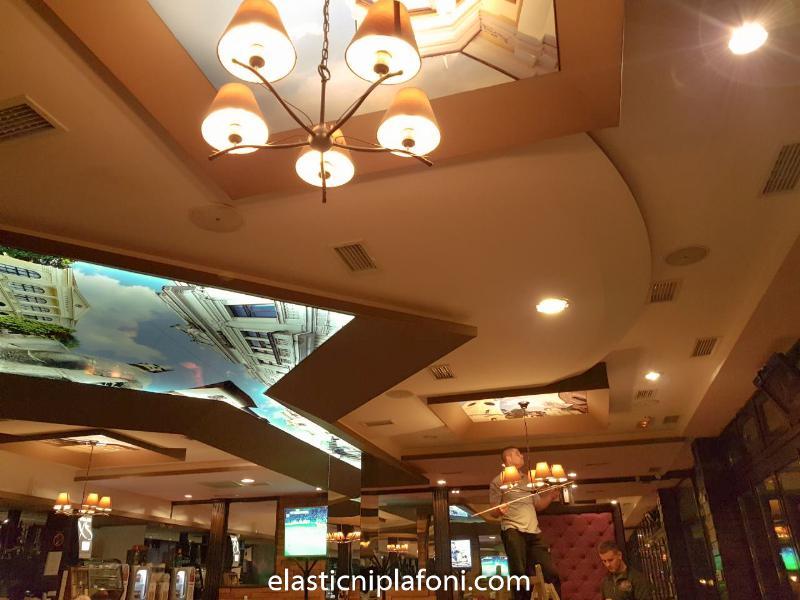 Elastični plafoni - Caffe Forum Kragujevac