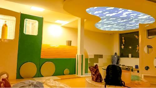 Elastični plafoni dečije sobe
