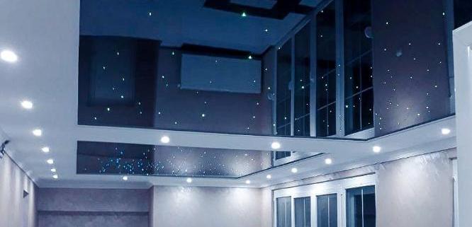 Plafon Zvezdano nebo - Elastični plafoni
